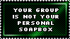 Not Your Soapbox by genkistamps