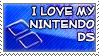 I Love My DS by genkistamps