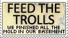 Feed the Trolls: Toppins a Bag by genkistamps