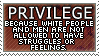 White Male Shaming by genkistamps