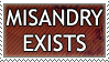 Misandry Exists by genkistamps