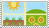 Earth Faction Stamp