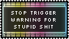 Annoyed =/= Triggered by genkistamps