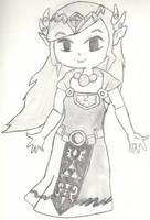 Princess Zelda- Wind Waker by APerfectDarkness