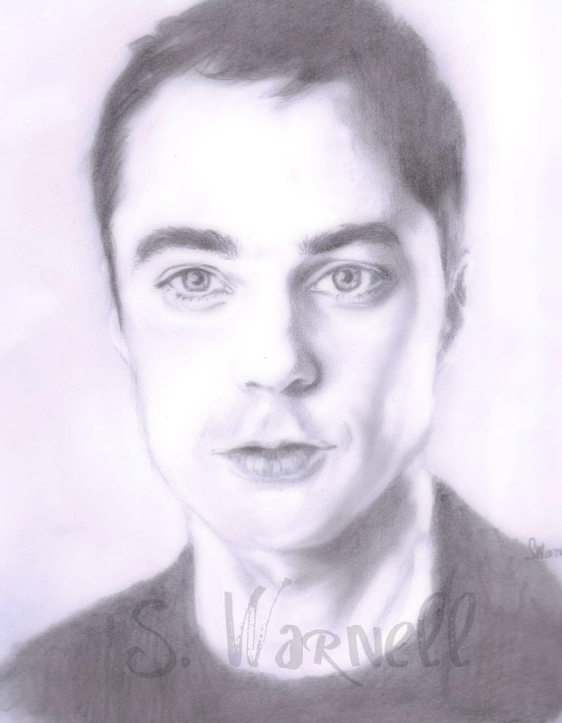 Jim Parsons -Sheldon Cooper by Shlynn
