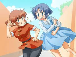 Ranma chan and Akane