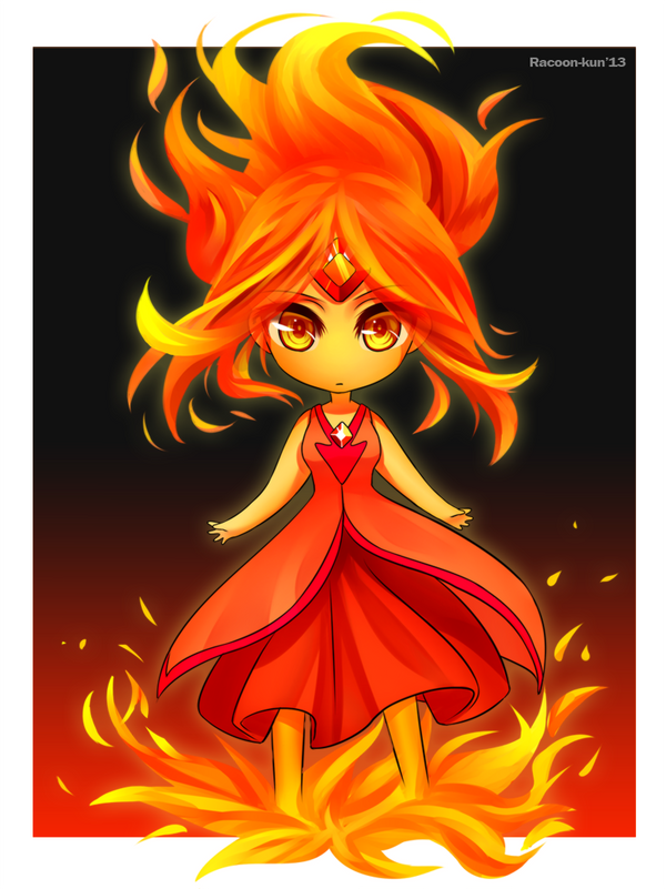 Flame Princess by RacoonKun on DeviantArt