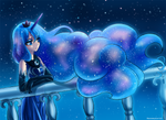 pensive Luna