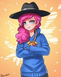 rap Pinkie pie by RacoonKun