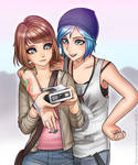 Max and Chloe by RacoonKun