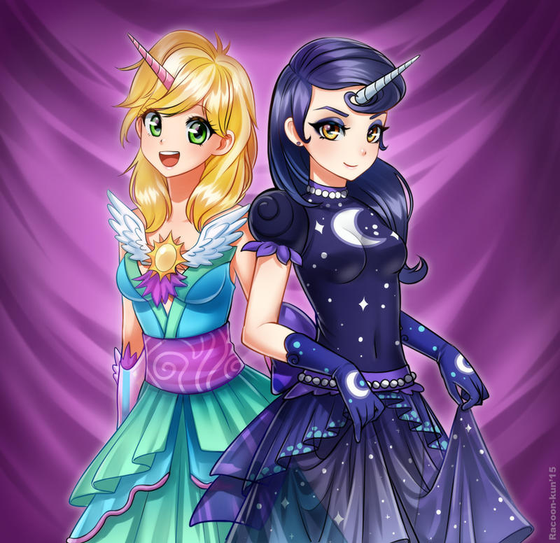 Feel like a princess. by RacoonKun