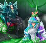 Chrysalis and Celestia