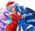 Hug a little sister