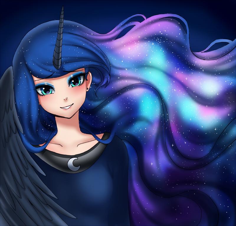Luna look by RacoonKun on DeviantArt