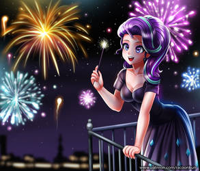 Happy-New-Year-Starlight by RacoonKun