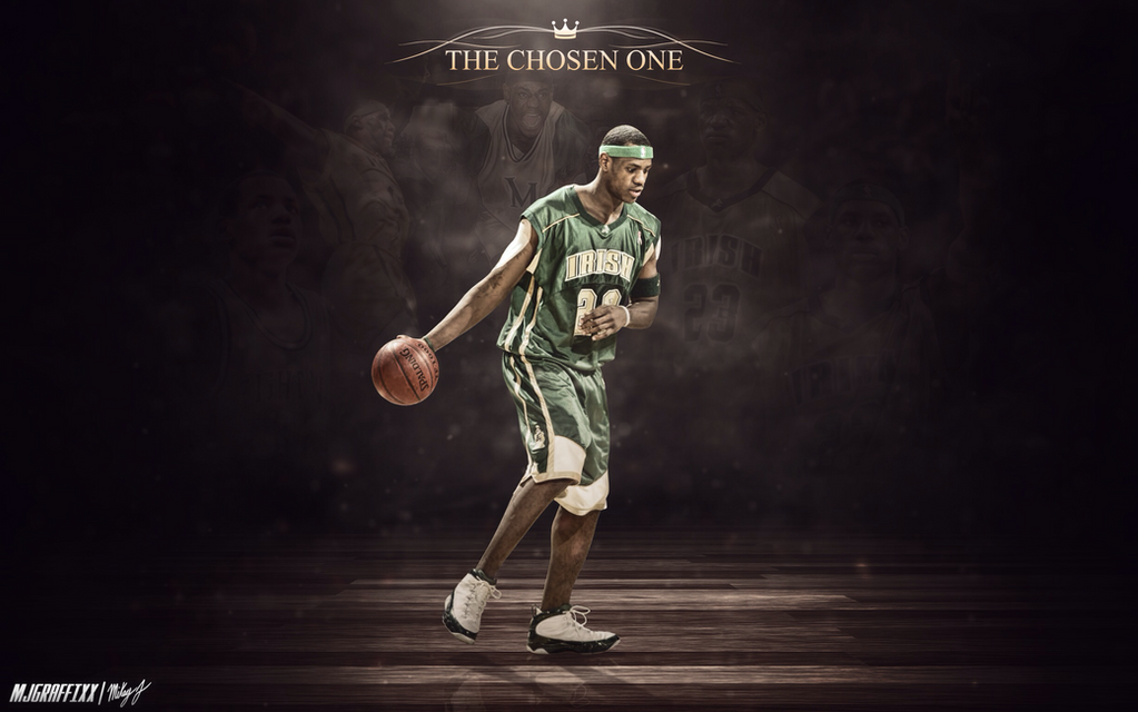 LeBron James The Chosen One By Mjgraffixx