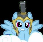 Commander Hurricane Dash on Her Cloud