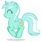 Lyra Jumping Happily