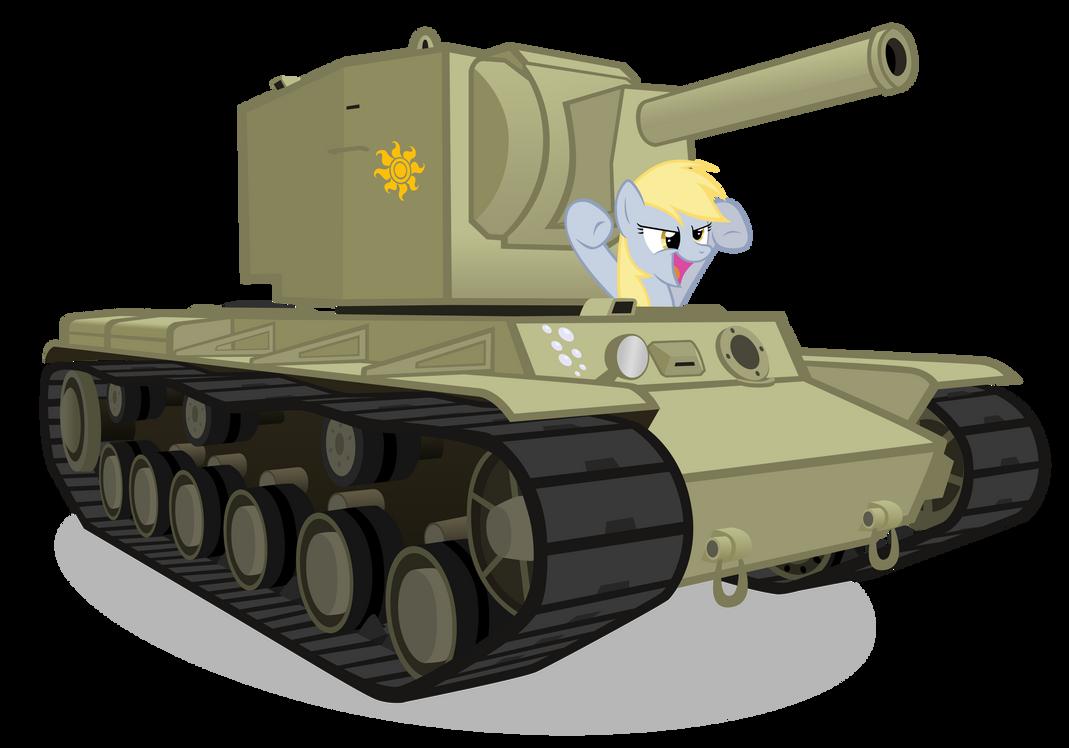 Crossover : MLP FiM + Tanks Derpy_found_a_kv_2_by_mrlolcats17-d4rjp0c