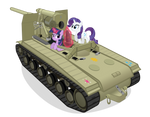 Twilight and Rarity Find an S-51