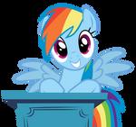 Rainbow Dash - Who, Me?