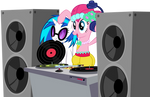 Pinkie Has DJ's Stashed All Over Equestria