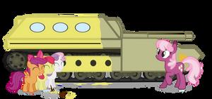 The Cutie Mark Crusaders Find a.... School Bus?