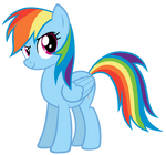 Rainbow Dash - Epic Stance