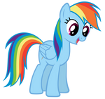 Rainbow Dash ALSO Finds The Floor
