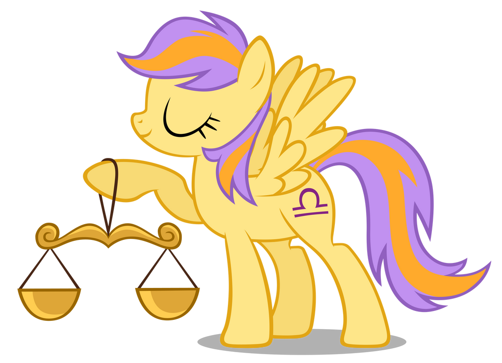 Libra Pony is best Horoscope Pony by MrLolcats17