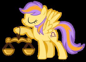 Libra Pony is best Horoscope Pony by MrLolcats17