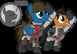 PS2 Ponies - Terran Republic