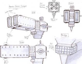 Gemini Carrier ideas by CanuFeelit