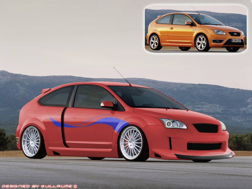 Focus ST tuning project by Guillaume-C on DeviantArt