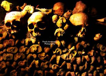 The Catacombs of Paris by VanessaTSLarsen