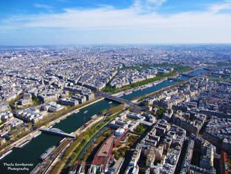 Eiffel Tower View by VanessaTSLarsen