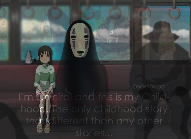 Chihiro's Childhood by Cliffto