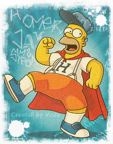 Homer Grunge edit by Cliffto