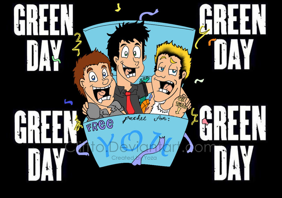 Green Day Gift by Cliffto