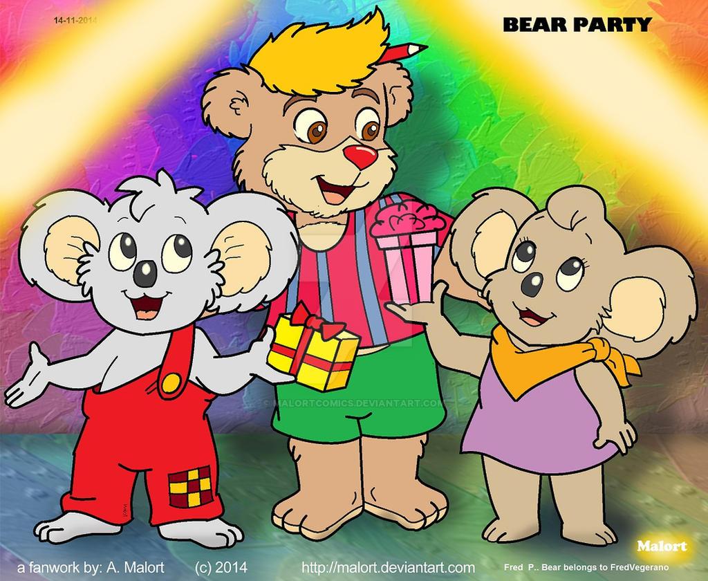 Bear Party By MalortComics On DeviantArt