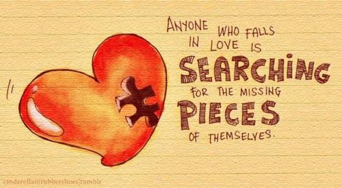 Missing Pieces by schizoidsprite