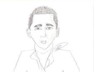 Trying to draw Obama