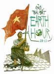 Earth hour Vietnam by phongduong