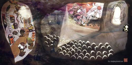 The mole cinema by phongduong