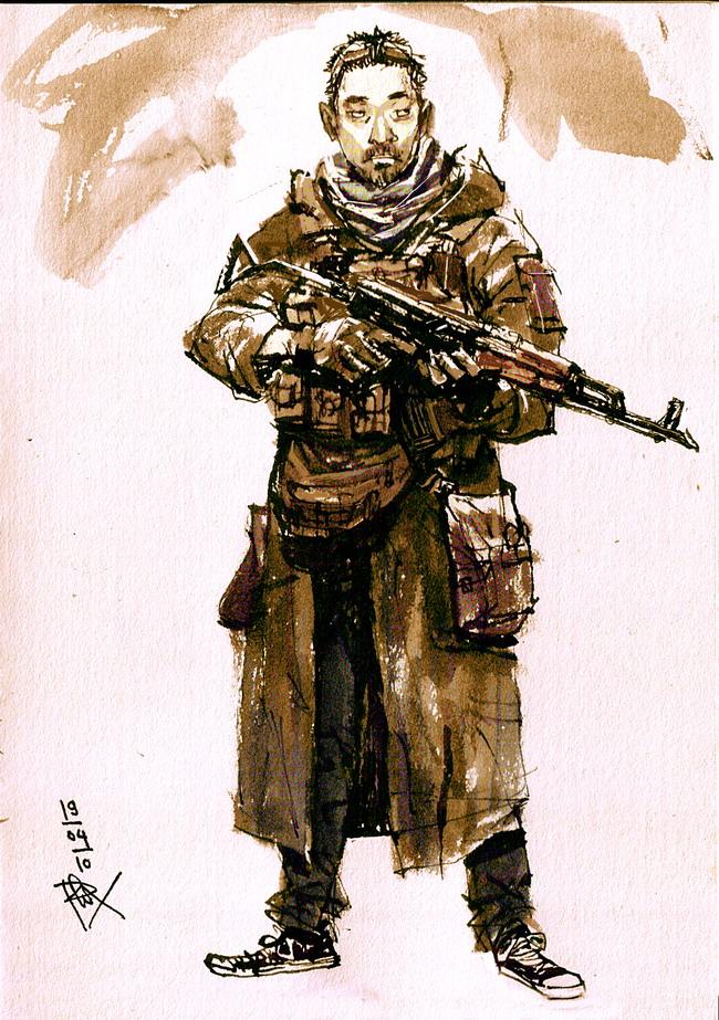 Capital militia by phongduong