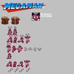 Mega Man NES Remix: Cut Man
