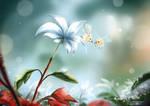 Cutiefly mingle - Tiny Pokemon Tiny World