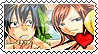 Grey x Erza Stamp by Karla-chaan