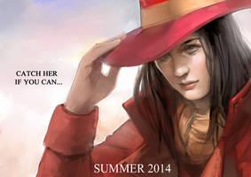 Carmen Sandiego Movie Poster by Mark35950