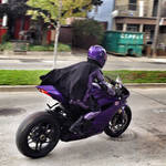 Hit-Girl Rides Again! by Mark35950